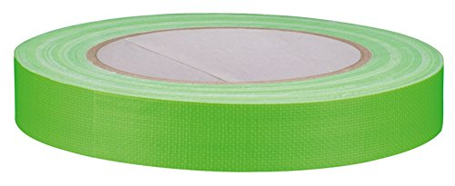 Chess Tools CHE225 Neontape, Green, 25 m x 19 mm from Chess Tools