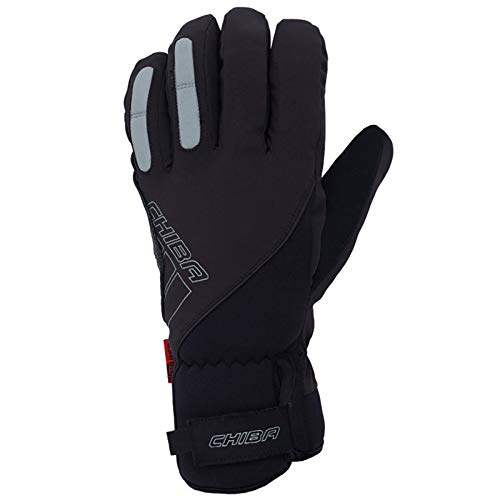 Chiba Warm Winter Gloves, Black, Small from Chiba