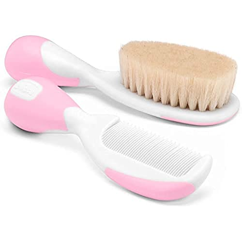 Chicco 00006569100000 Comb and Brush Pink from Chicco