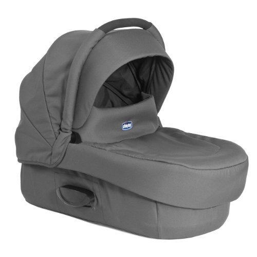 Chicco Artic Semi Rigid Carrycot - Anthracite from Chicco