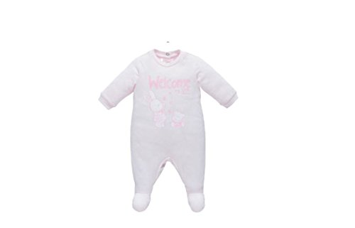 Sleepsuit with patello jersey 6 mesi pink from Chicco