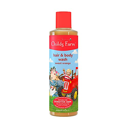 Childs Farm hair & body wash organic sweet orange 250ml from Childs Farm