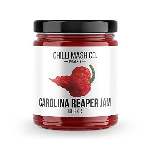 Carolina Reaper Chilli Jam - 41ml - The World's Hottest Chilli Jam from Chilli Mash Company Ltd