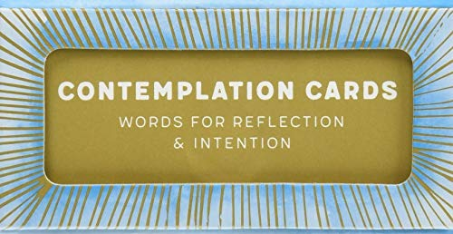 Contemplation Cards: Words for Reflection & Intention from Chronicle Books