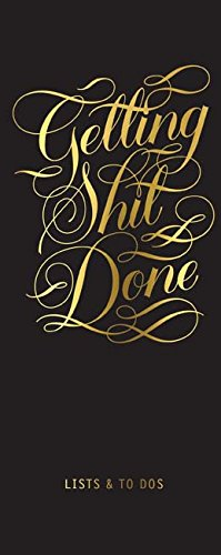 Getting Shit Done List Ledger (Calligraphuck) from Chronicle Books