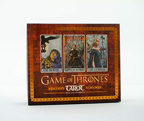 Game of Thrones Tarot Card Set: (Game of Thrones Gifts, Card Game Gifts, Arcana Tarot Card Set) from Chronicle Books