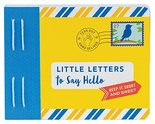 Little Letters to Say Hello: (letters to Open When, Thinking of You Letters, Long Distance Family Letters) (Letters To My) from Chronicle Books