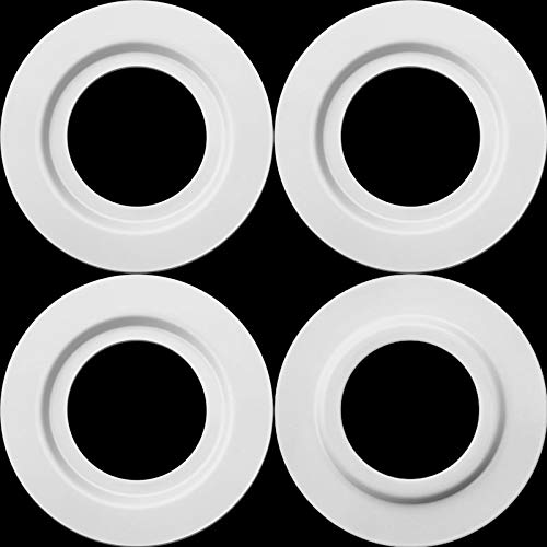 White Metal Lamp Shade Reducer Ring for ES/E27 to BC/B22 Plate Light Fitting Lampshade Washer Adaptor Converter (4) from Chuangdi