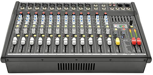 Citronic - CSP Series | Compact Powered Mixer With Built In Effects | 14 inputs 700W from Citronic