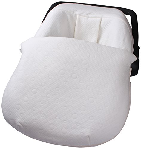 Clair de Lune Cotton Candy Car Seat Footmuff (Ivory White) from Clair de Lune