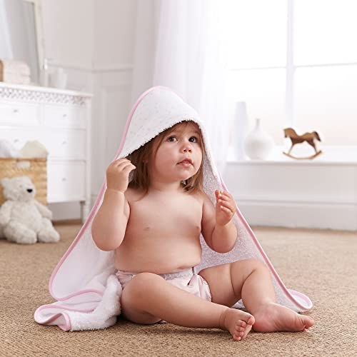 Clair de Lune Hooded Towel (Pink, Star) from Clair de Lune