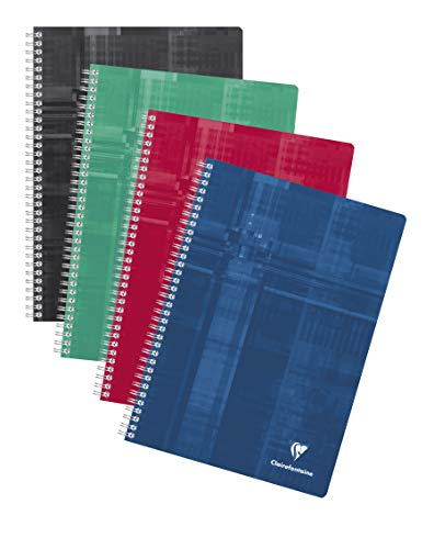 Clairefontaine 8181C - A Spiral Notebook 21x29,7cm 360 pages large tiles - random color from Clairefontaine