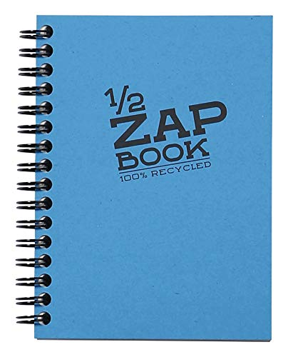 Clairefontaine Demi Zap Book, Wirebound, 10.5x14.8cm, Assorted from Clairefontaine