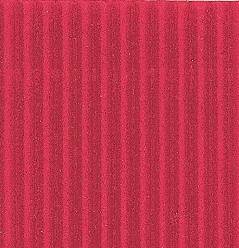 Clairefontaine Maildor Corrugated Cardboard Roll, 2 x 0.70 m, 175 g - Red from Clairefontaine
