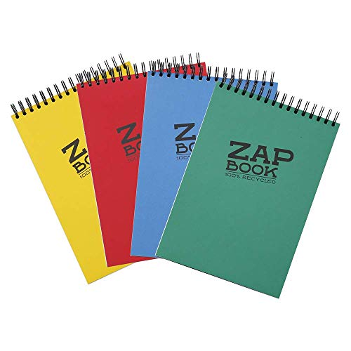 Clairefontaine Zap Book Sketchbook, 21x29.7cm, Assorted, A4 from Clairefontaine