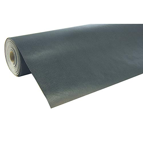 Clairefontaine 50 m x 0.70 m Nature Kraft Long Roll Wrapping Paper, Black from Clairefontaine