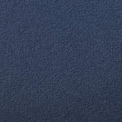 Clairefontaine Etival Coloured Grained Drawing Paper, 160 g, 50 x 65 cm - Navy Blue, 24 Sheets from Clairefontaine