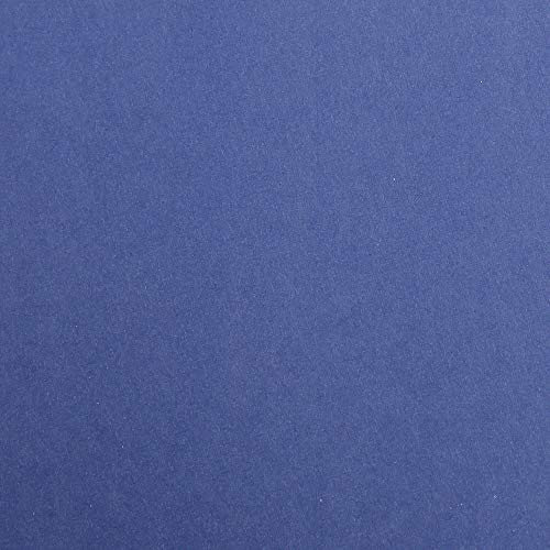 Clairefontaine Maya Coloured Smooth Drawing Paper, 270 g, A4 - Midnight Blue, Pack of 25 Sheets from Clairefontaine