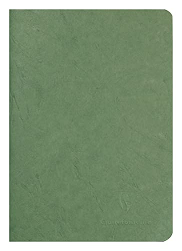 Clairefontaine 'Age Bag' Notebook, A5, Lined, 96 Pages - Green from Clairefontaine