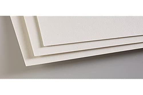 Clairefontaine PastelMat 50 x 70 cm Sheets, 360 g, Light Grey, 5 Sheets from Clairefontaine