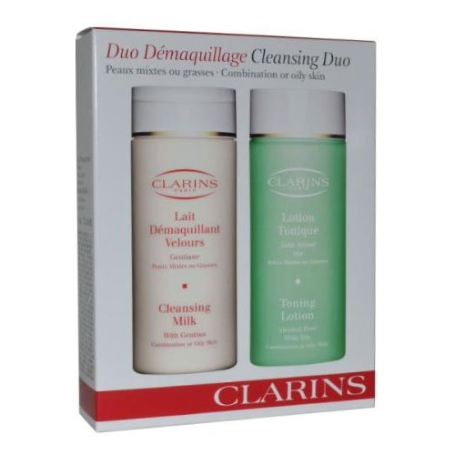 Clarins Cleansing & Toning Duo for Combination or Oily Skin - 200ml each Boxed from Clarins