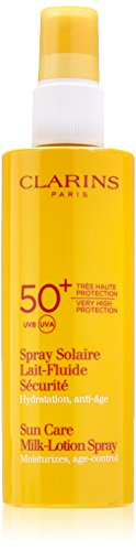 Clarins Sunscreen Care Milk-Lotion Spray Very High Protection UVB/UVA 50+, 150 ml from Clarins