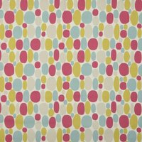Bubble Curtain Fabric Summer from Clarke & Clarke Fabrics