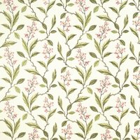 Melrose Curtain Fabric Pinkapple from Clarke & Clarke Fabrics