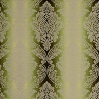 Ornato Curtain Fabric Olive from Clarke & Clarke