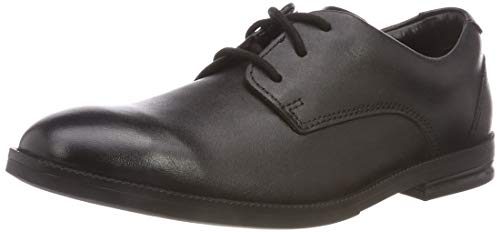 Clarks Boys' Rufus Edge Brogues, Black (Black Leather-), Child 13 UK (32 EU) from Clarks