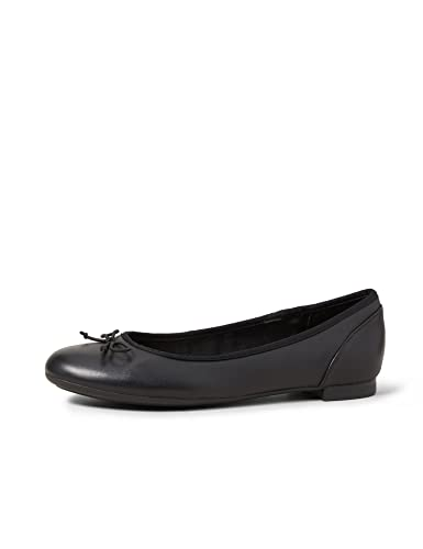 Clarks Women's Ballet Flats Pumps Shoes Couture Bloom Black Leather from Clarks