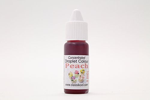 Classikool 10ml Concentrated Food Gel Colouring for Sugarpaste Icing, Baking & Painting [*Free UK Post] (Peach) from Classikool