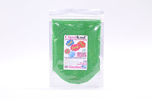 Classikool Instant Candy Floss - Bargain Bulk Sets [*FREE UK POST] (5 x Green Apple) from Classikool