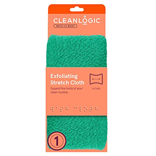 Clean Logic Stretch Bath & Shower Cloth (Assorted Colors) from Cleanlogic