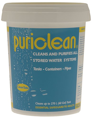 Clean Tabs Puri Water Cleaner and Purifier - Blue, 400 g from Clean Tabs
