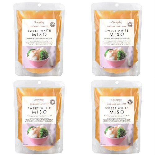 (4 PACK) - Clearspring - Organic Sweet White Miso | 250g | 4 PACK BUNDLE from Clearspring