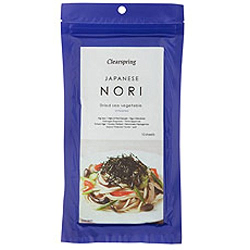 Clearspring Japanese Nori Sheets 25 g from Clearspring