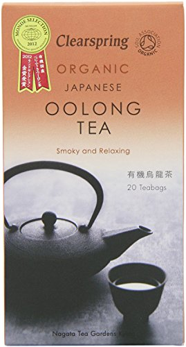 Clearspring Organic Japanese Oolong (Pack of 1, 20 Teabags) from Clearspring
