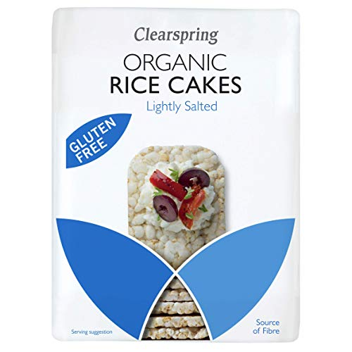 Clearspring | Rice Cakes - Lightly Salted | 12 x 130g from Clearspring