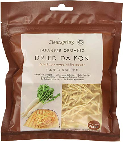 Organic Dried Daikon - 40g from Clearspring