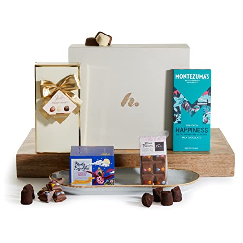 Essential Chocolate Selection - Chocolate Gift Hamper - Luxury Chocolate Hampers - Chocolate Gift Baskets & Gifts from Clearwater Hampers