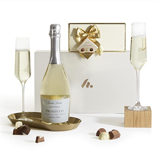 Prosecco & Chocolates Gift Set - The Perfect Luxury Gift Hamper - Birthday, Congratulations, Anniversary and Thank You Gift from Clearwater Hampers