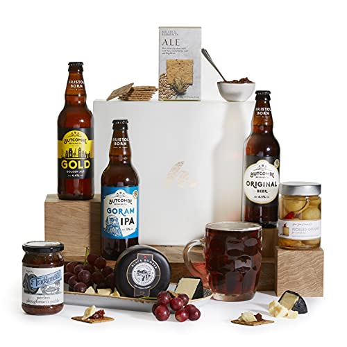 The Great British Craft Beer Selection Hamper - Beer Hampers - Award Winning Real Ale Beer Hampers - SIX (6) Bottles of British Craft Ale from Clearwater Hampers