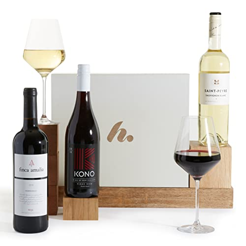 The Mixed Trio Wine Gift - Red, White & Prosecco Wines - Three Bottle Wine Selection from Clearwater Hampers