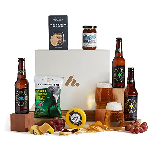 The Real Ale Hamper For Him - The Perfect Present For The Beer Lover - Birthday Ideas & Mens Gifts from Clearwater Hampers