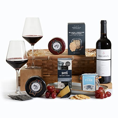 Wine, Cheese and Pate Hamper - Luxury Gift Hampers & Food Gifts Collection from Clearwater Hampers