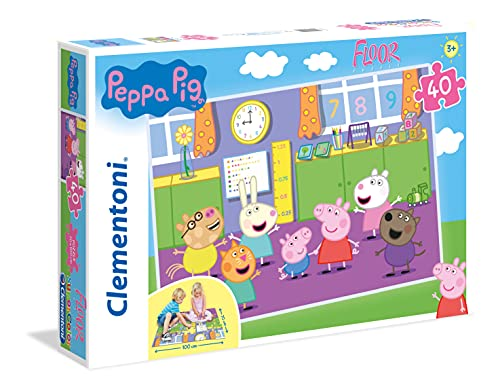 Clementoni 25458 - Peppa Pig Floor Puzzle (40 Pieces) from Clementoni