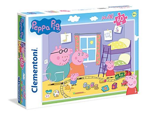 Clementoni 26438 - Peppa Pig Maxi Puzzle, 60 Pieces from Clementoni