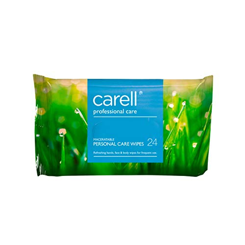 Clinell Patient Hands & Face Wipes - Pack of 24 from Clinell