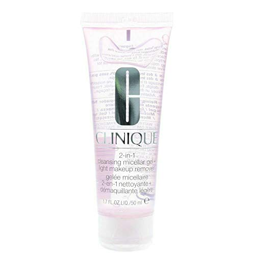 Clinique 2-in-1 Cleansing Micellar Gel + Light Makeup Remover 50ml from Clinique